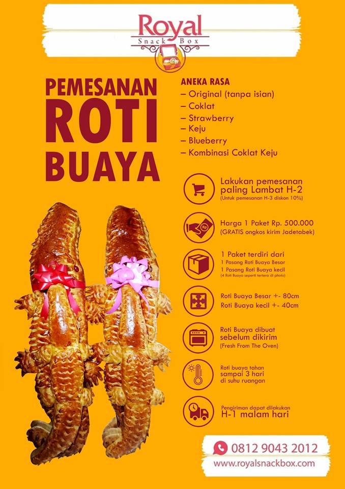 Roti Buaya Khas Jakarta