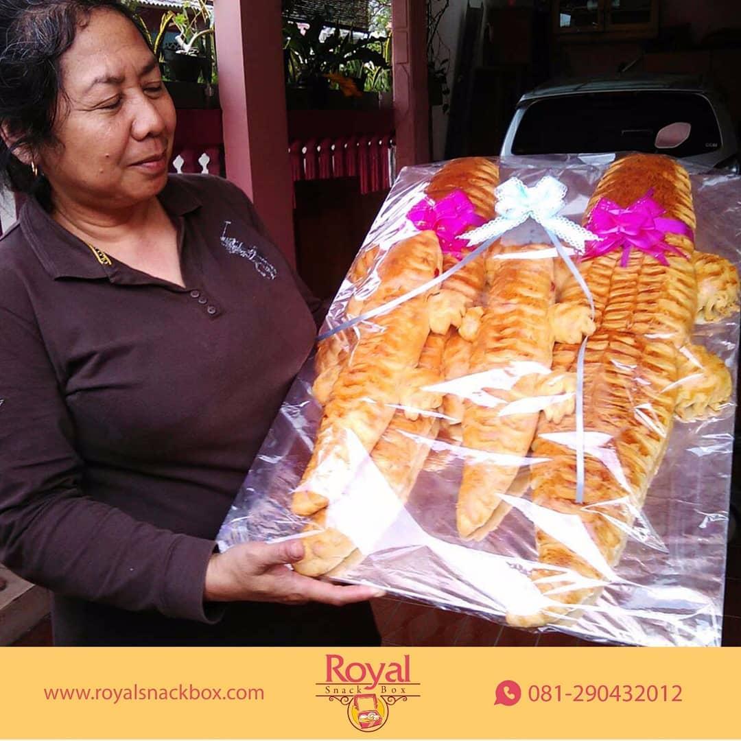 Paket Roti Buaya Untuk Hantaran